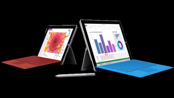 Surface (Pro) 3 – der große Vergleich – Teil1